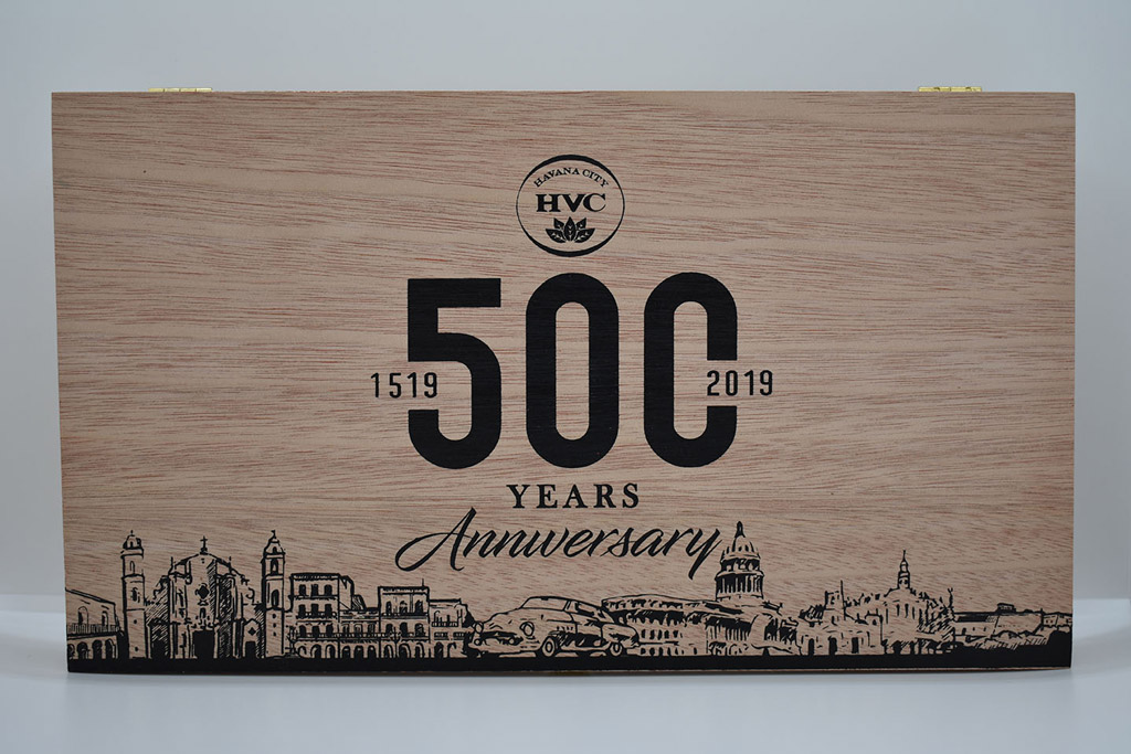 HVC 500 Years Anniversary Selectos box cloosed