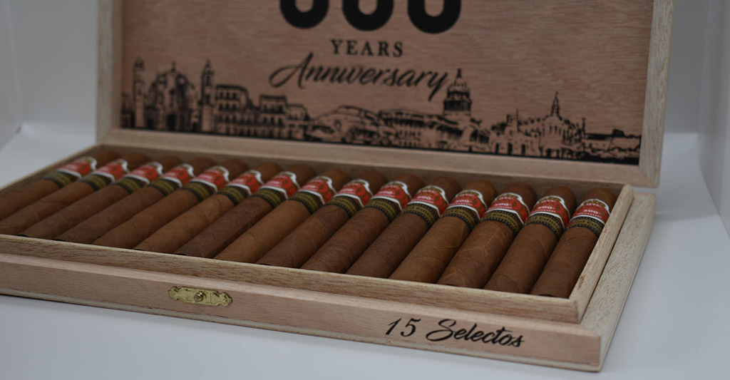 HVC 500 Years Anniversary Selectos cigars