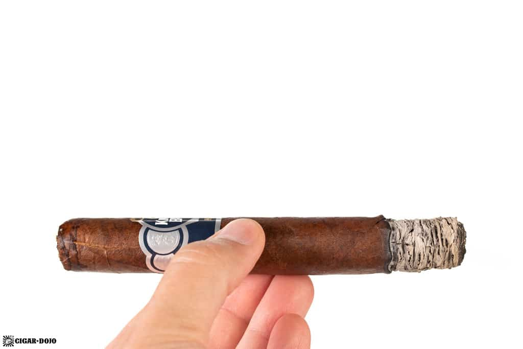 Punch Knuckle Buster Toro cigar ash