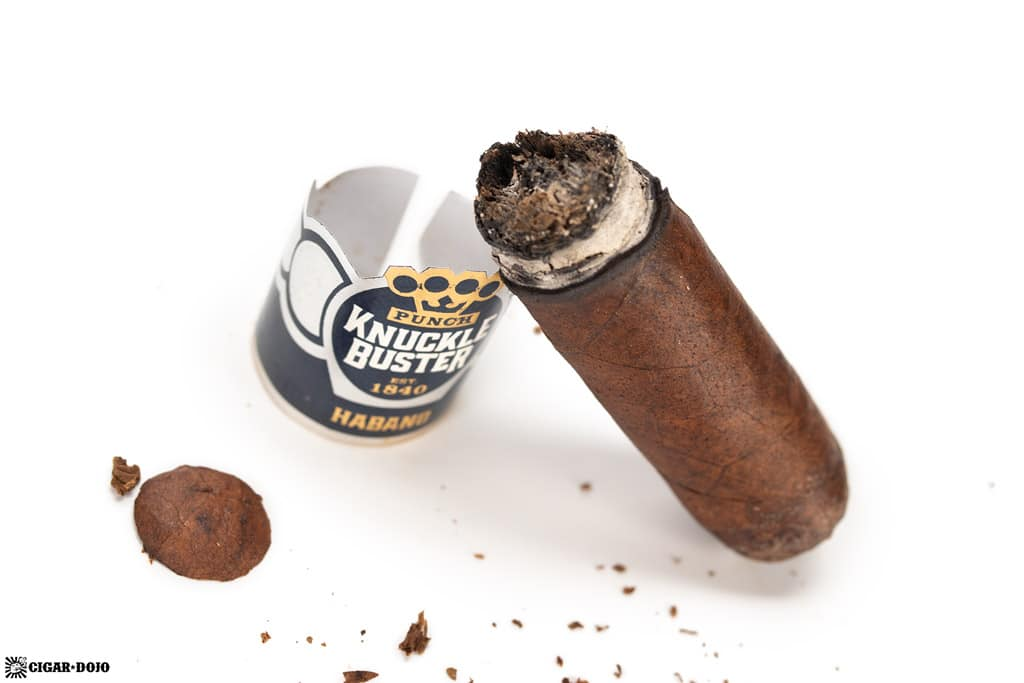 Punch Knuckle Buster Toro cigar nub finished