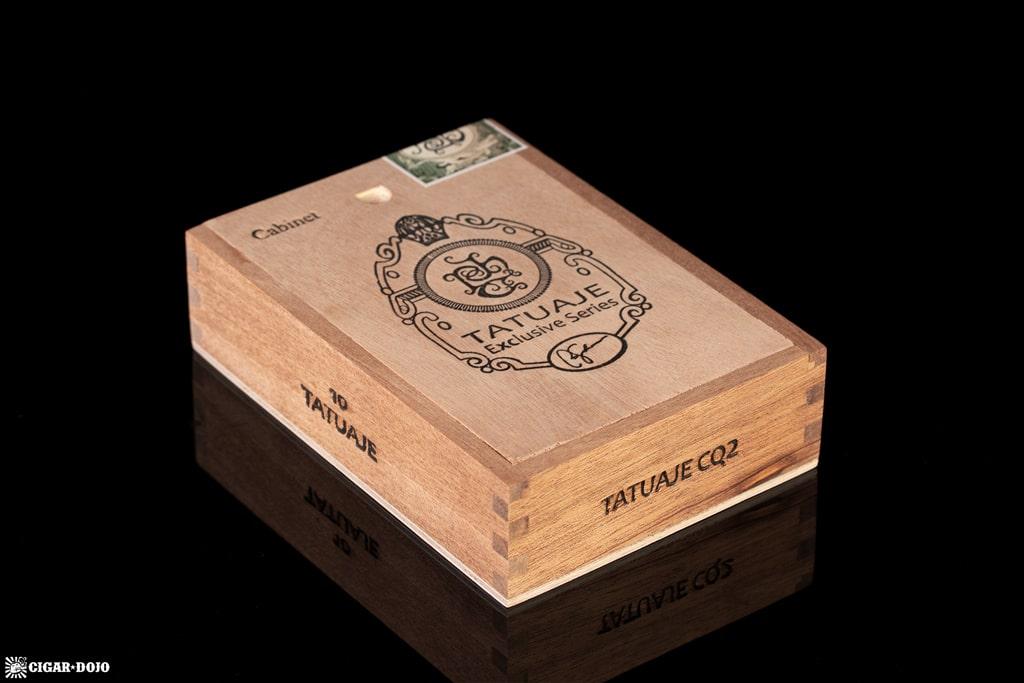 Tatuaje CQ2 cigar box