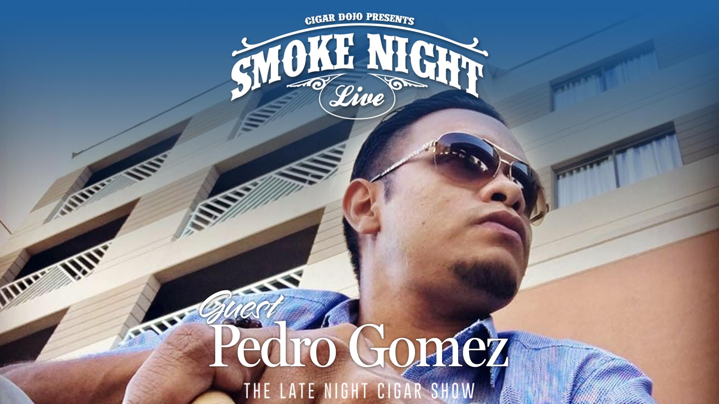 Drew Estate Factory Spokesman Pedro Gomez