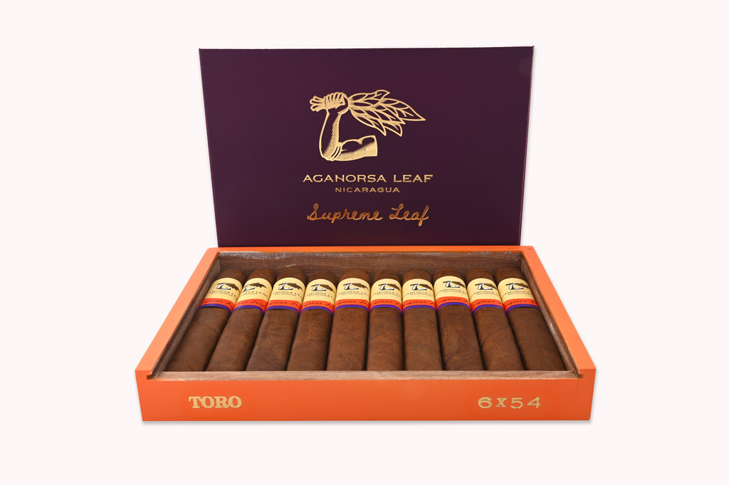 Aganorsa Leaf Supreme Leaf toro open box
