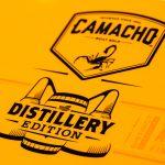 Camacho Connecticut Distillery Edition cigar box lid