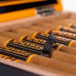 Camacho Connecticut Distillery Edition cigars open box