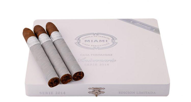 Aganorsa Leaf Casa Fernandez Aniversario Cuban 109 cigar packaging