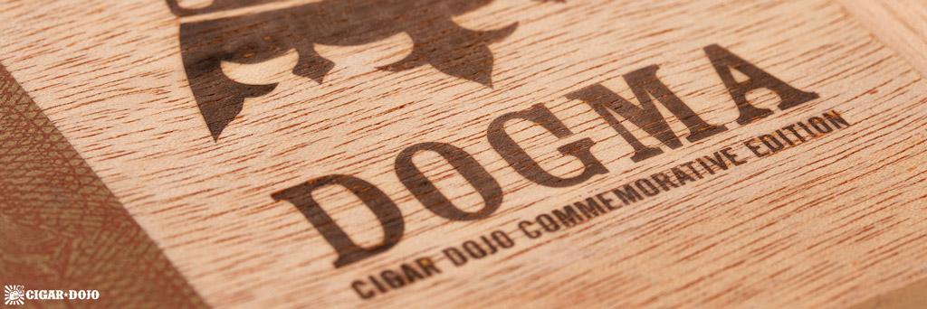 Undercrown Dogma Sun Grown box lid closeup