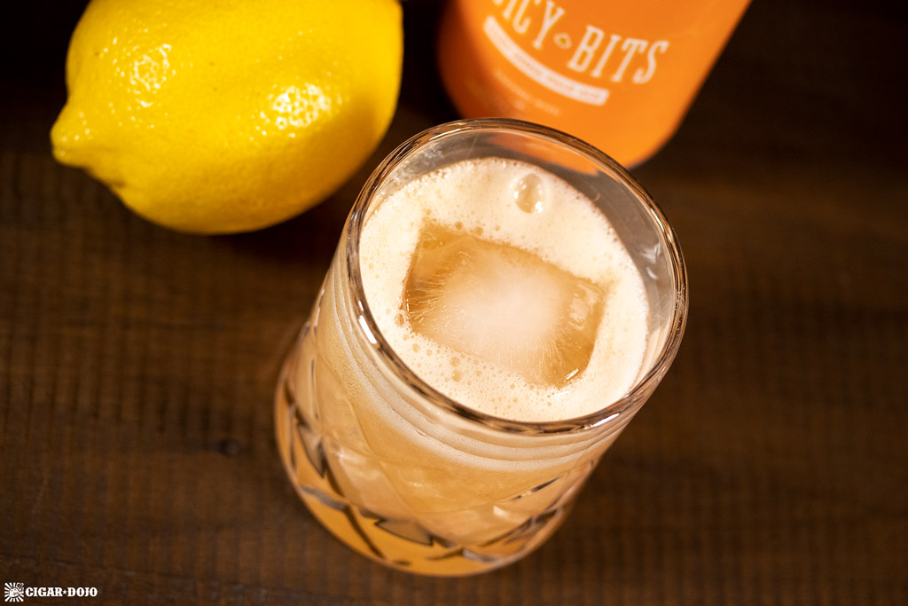 Hazy Whiskey Sour Cocktail