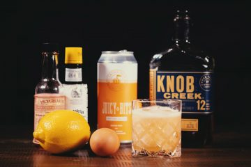 Hazy Whiskey Sour Cocktail Recipe