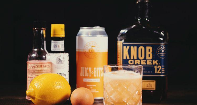 Hazy Whiskey Sour Cocktail Recipe