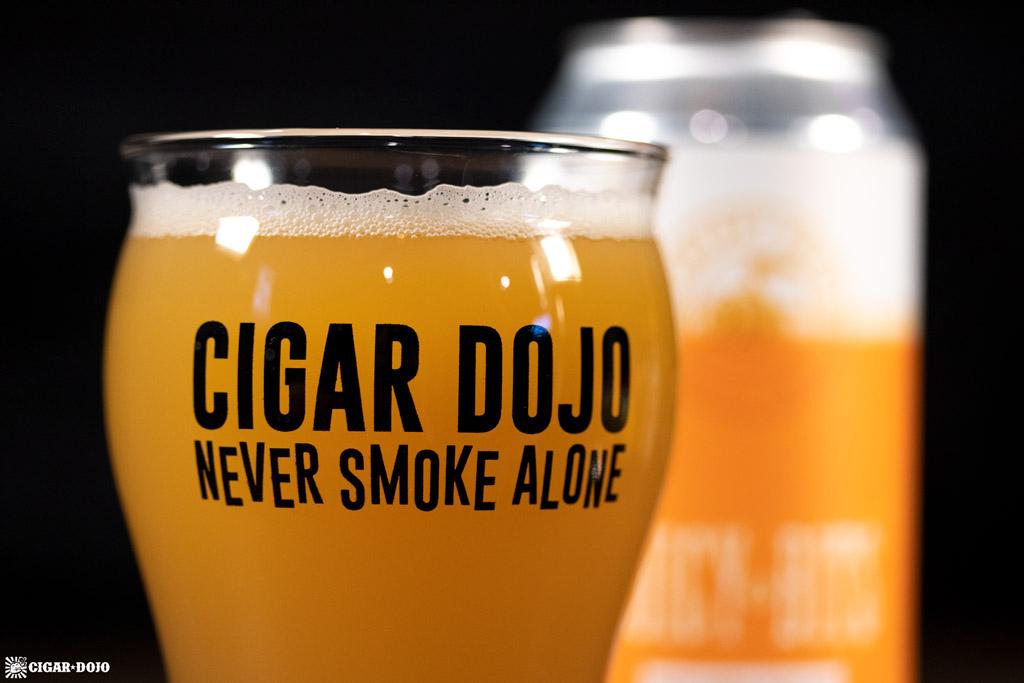 WeldWerks Juicy Bits IPA Cigar Dojo glass