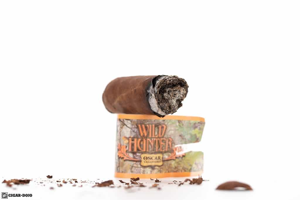 Oscar Valladares Wild Hunter Natural cigar nub finished