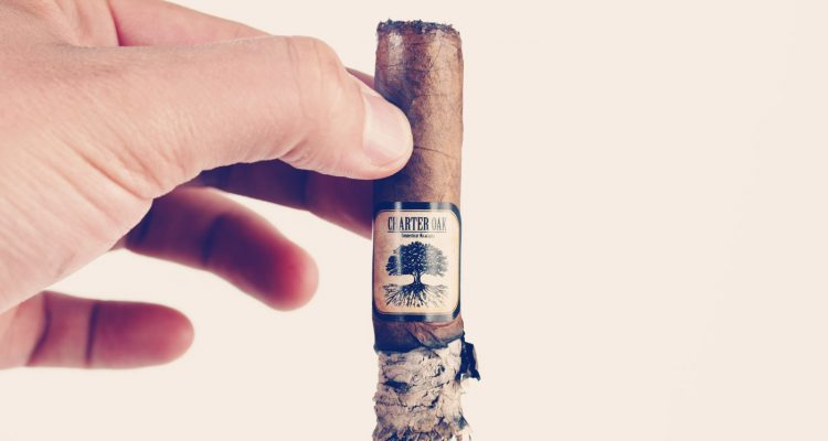 Charter Oak Habano Lonsdale cigar review