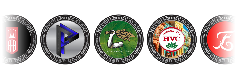 Cigar Dojo App Brand Badges