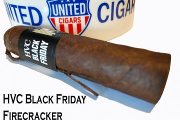 HVC Black Friday Firecracker cigar