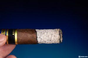 Perdomo Reserve 10th Anniversary Box-Pressed Maduro Epicure cigar ash