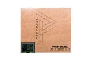 Protocol Cyber Crimes Unit cigar box closed