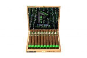 Protocol Cyber Crimes Unit cigar box open