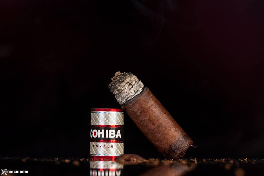 Cohiba Royale Toro cigar nub finished