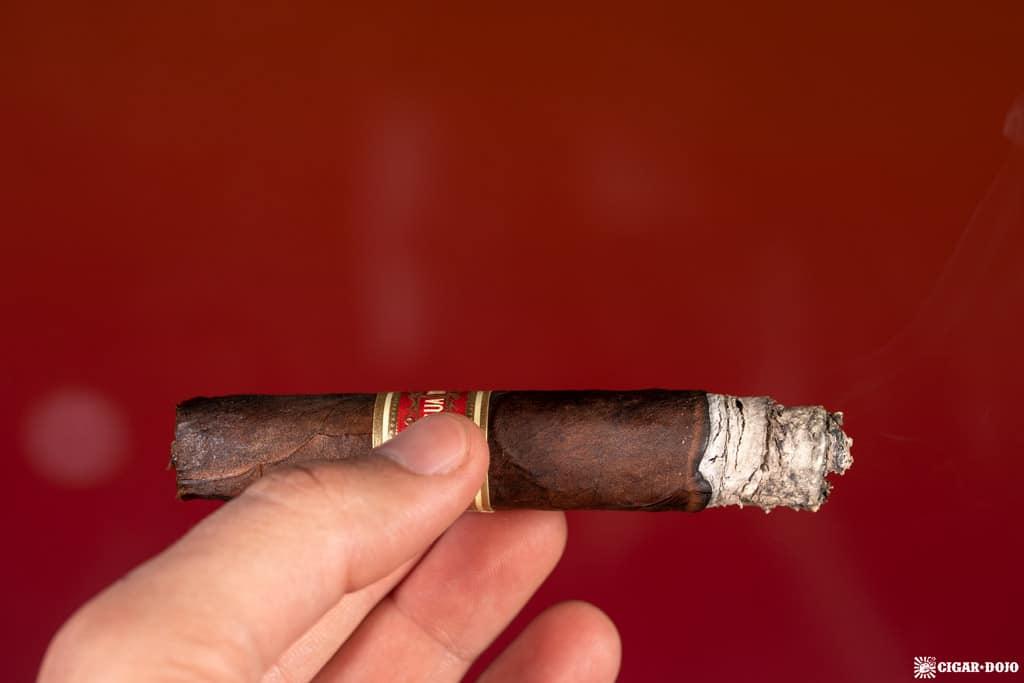 J.C. Newman Yagua cigar ash
