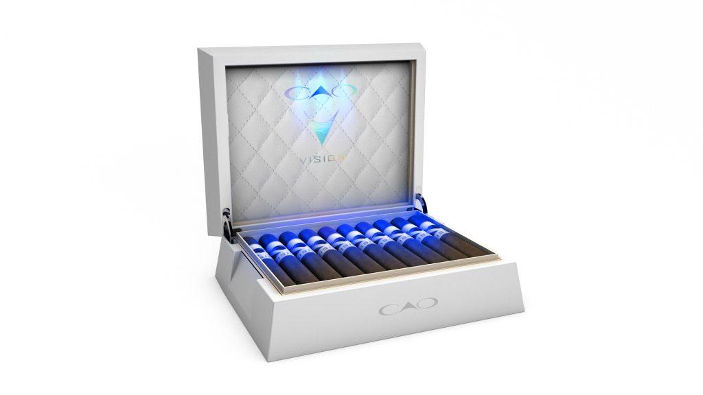 CAO Vision (2020) humidor box open