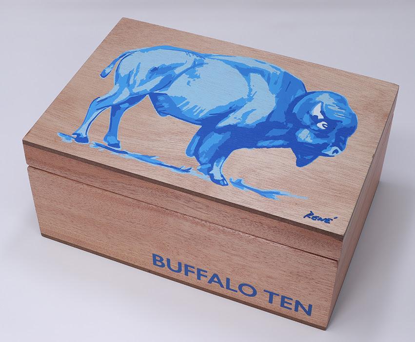 El Artista TEN cigar box
