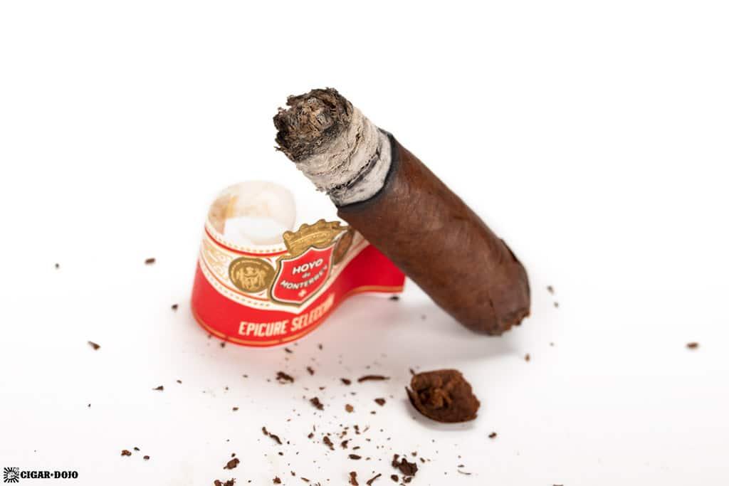 Hoyo de Monterrey Epicure Selección No.1 cigar finished