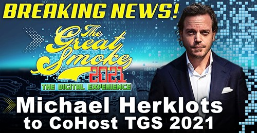 Michael Herklots to co-host the Great Smoke