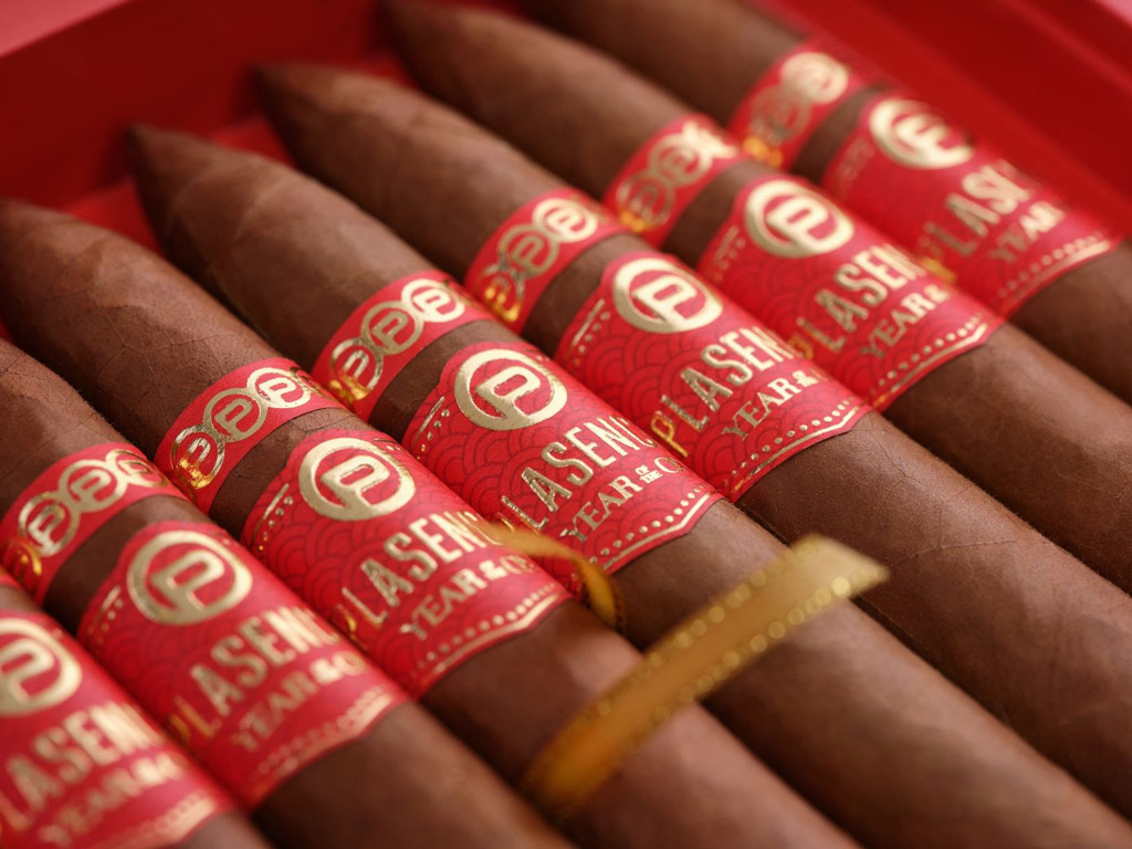 Plasencia Year of the Ox cigars close up