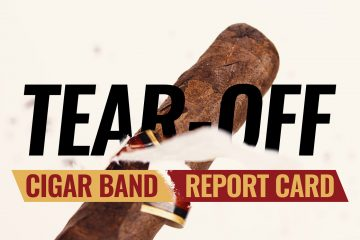 Tear-off: Cigar Band Report Card