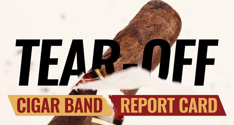 Tear-off: Cigar Band Report Card