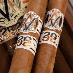 AVO Improvisation Series LE20 cigars on box