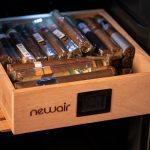 NewAir NCH250SS00 humidor drawer filled