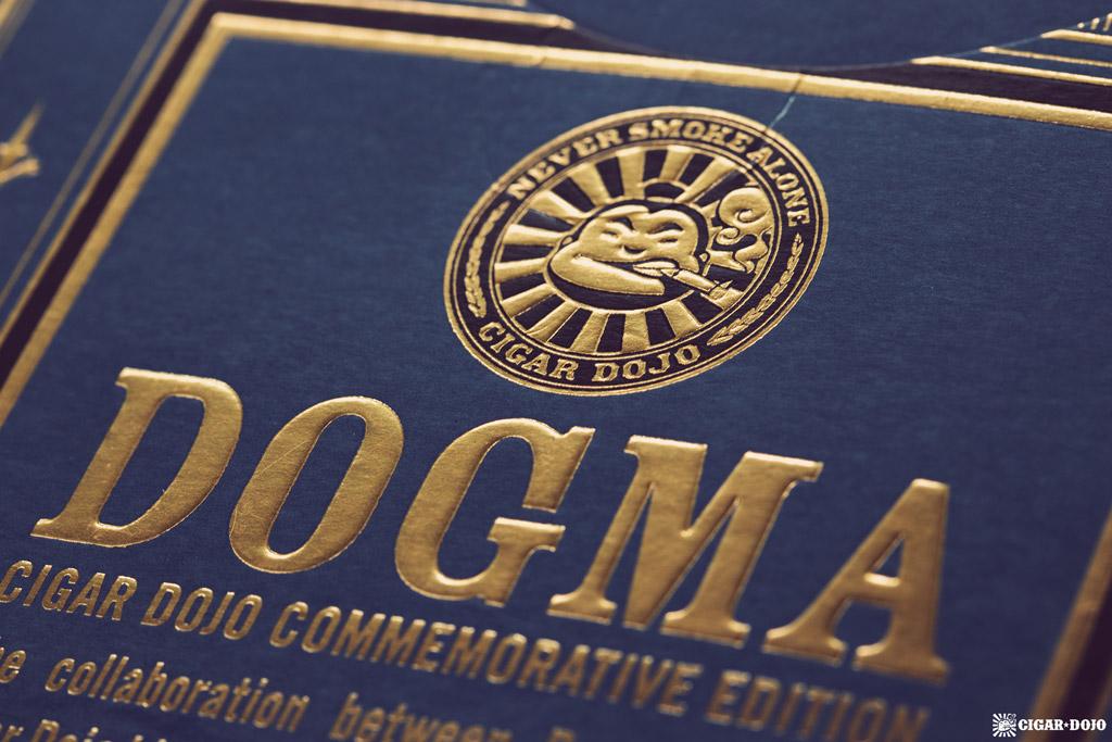 Drew Estate Undercrown Dojo Dogma Maduro 2020 cigar box Dojo logo