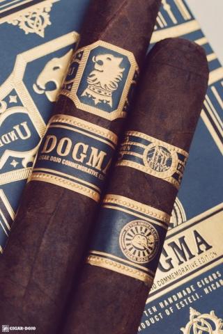 Drew Estate Undercrown Dojo Dogma Maduro 2020 cigars on box