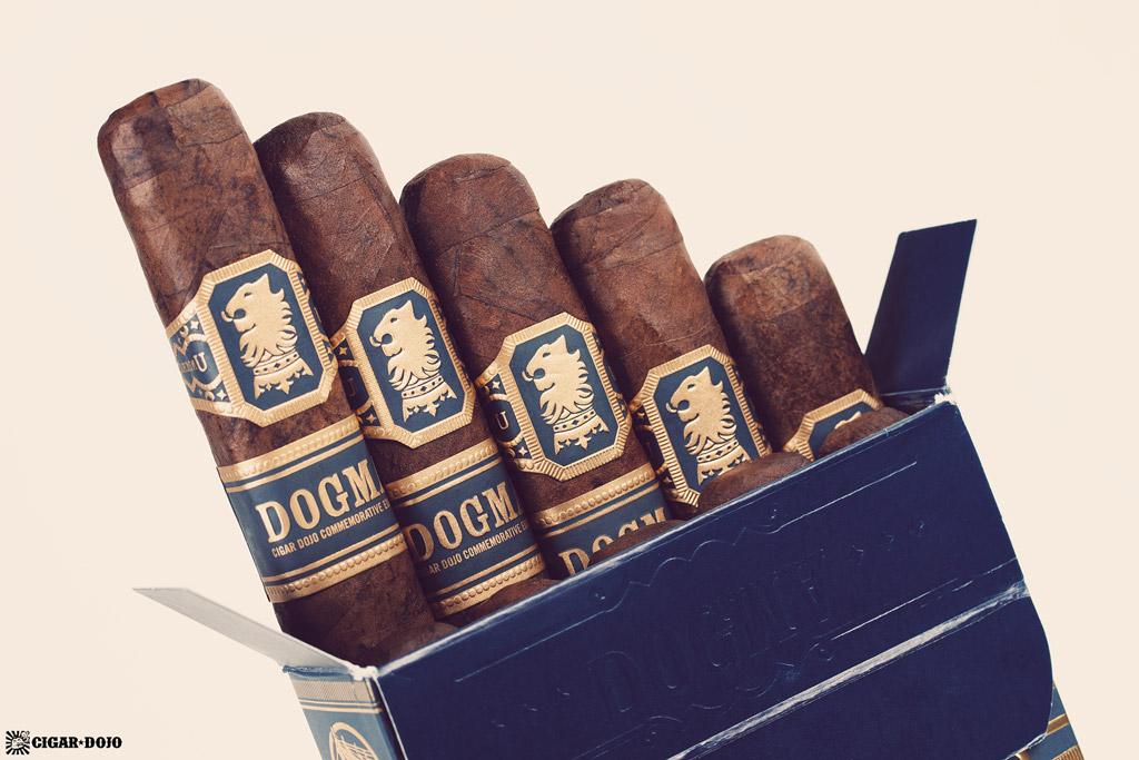 Drew Estate Undercrown Dojo Dogma Maduro 2020 cigars open box