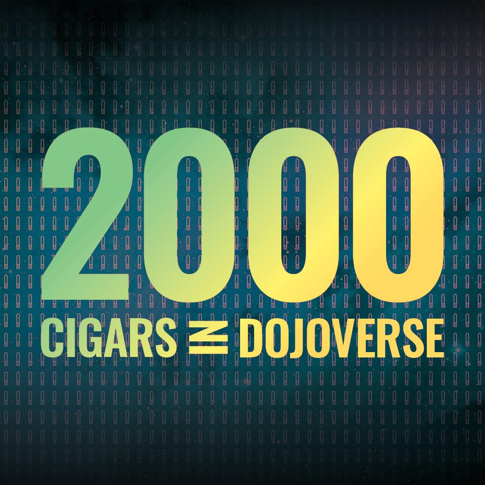 Over 2,000 cigars in Cigar Dojo Dojoverse app