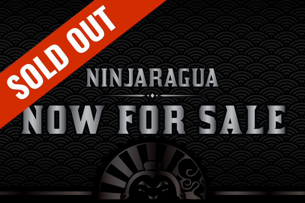 JOYA Ninjaragua cigars sold out