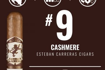 Esteban Carreras Cashmere No. 9 Cigar of the Year 2020