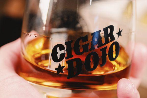 Cigar Dojo Rocks Glass 2021 mood shot closeup