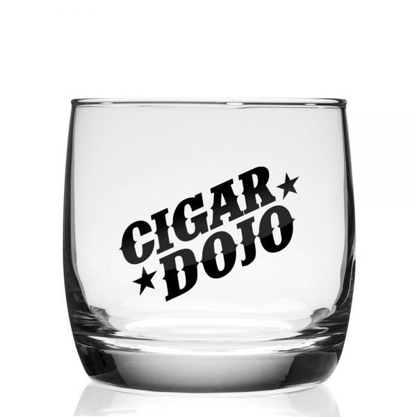Cigar Dojo Rocks Glass 2021 front