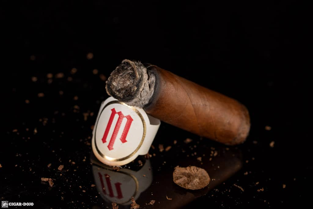 Crowned Heads Mil Días Double Robusto cigar nub finished