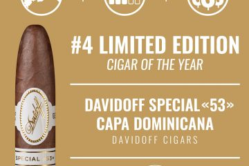 Davidoff Special 53 Capa Dominicana No. 4 Limited Edition Cigar of the Year 2020