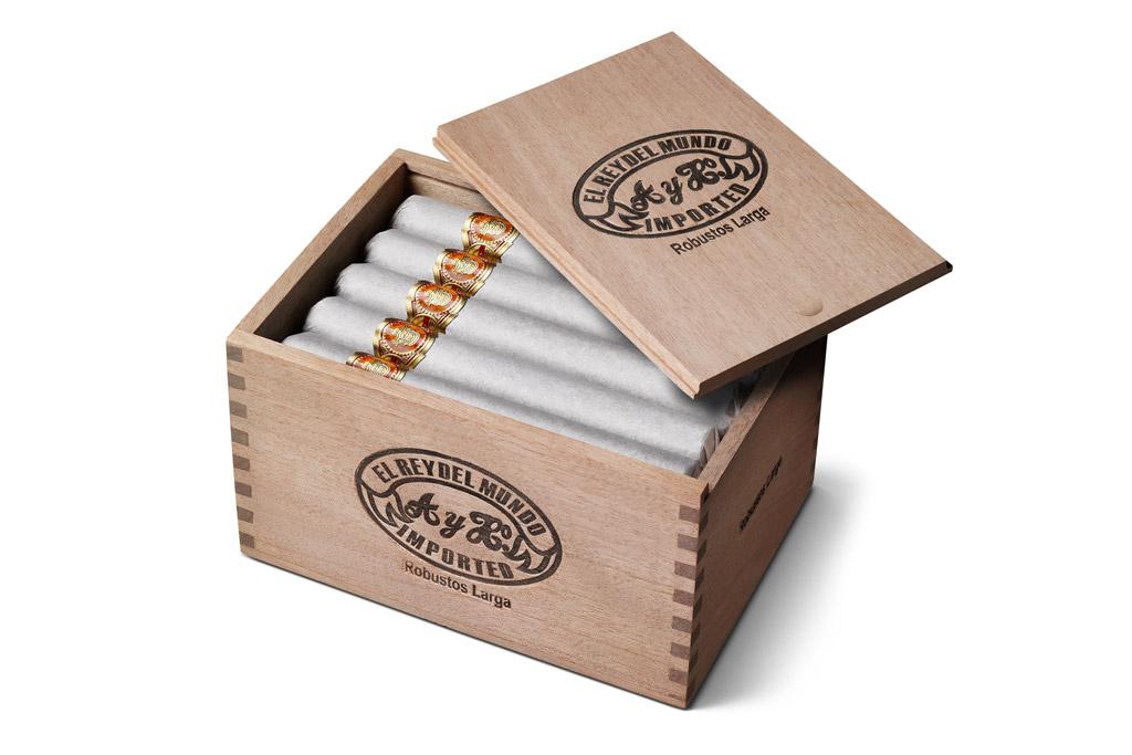 El Rey del Mundo cigars in box