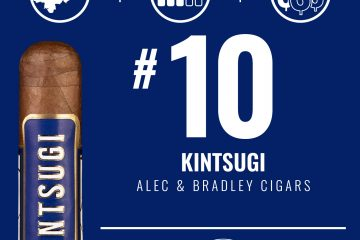 Alec & Bradley Kintsugi No. 10 Cigar of the Year 2020