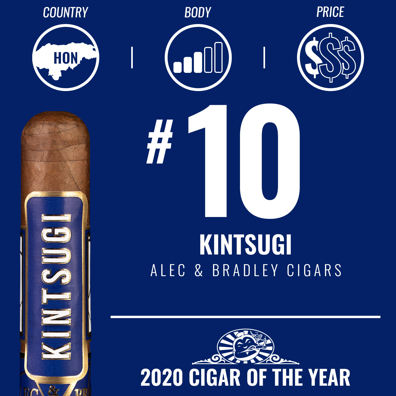 Alec & Bradley Kintsugi No. 10 Cigar of the Year 2020