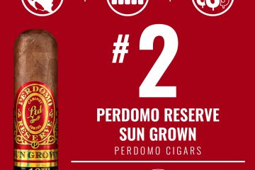 Perdomo Reserve 10th Anniversary Sun Grown No. 2 Cigar of the Year 2020
