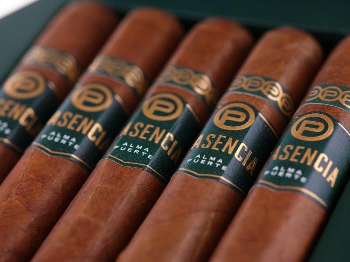 Plasencia Alma Fuerte Sixto I Hexagon Colorado Claro cigars