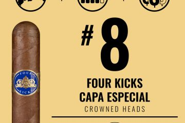 Crowned Heads Four Kicks Capa Especial No. 8 Cigar of the Year 2020