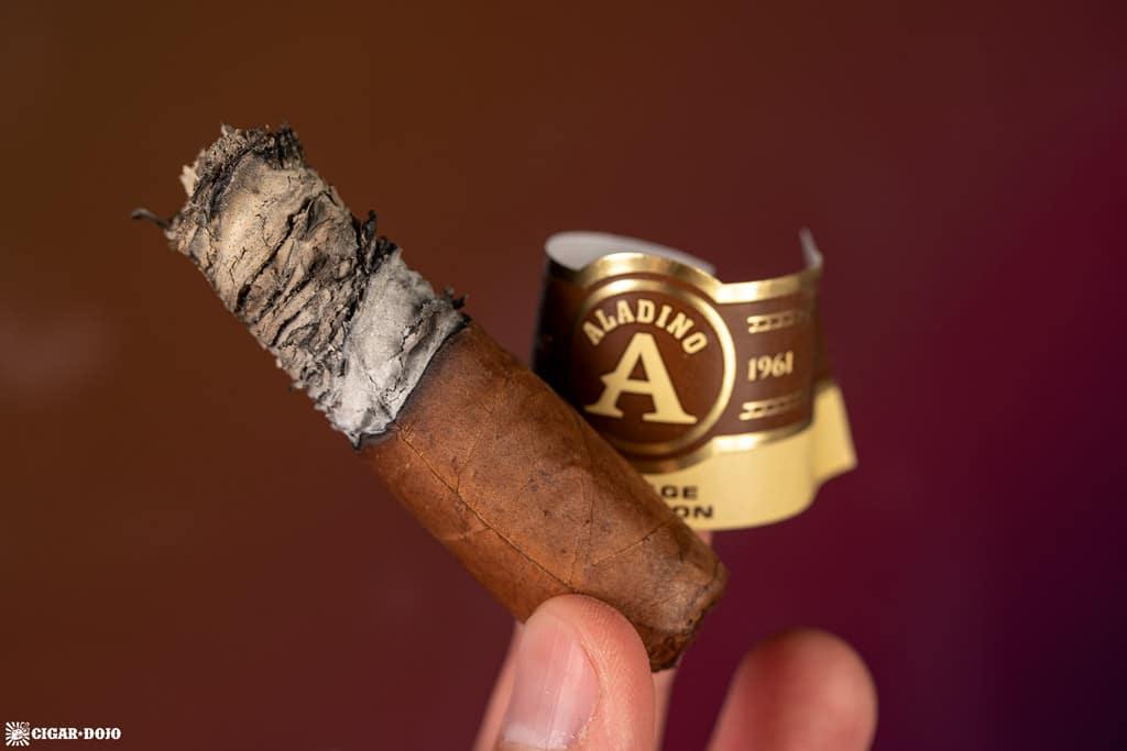 Aladino Habano Vintage Selection Rothschild cigar nub finished